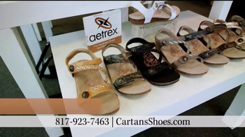 Cartan's Shoes TV Spot, '$10 Off All Aetrex' - Thumbnail 8