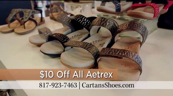 Cartan's Shoes TV Spot, '$10 Off All Aetrex' - Thumbnail 9