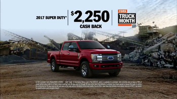 Ford Truck Month TV Spot, '2017 Super Duty: Trade Assistance' [T2] - Thumbnail 7