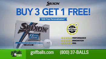 Golfballs.com TV Spot, 'Buy Three, Get One Free on Srixon Golf Balls' - Thumbnail 2