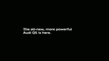 2018 Audi Q5 TV Spot, 'The Interview' [T1] - Thumbnail 9