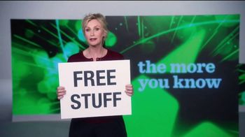 The More You Know TV Spot, 'Environment: Free Stuff' Featuring Jane Lynch - 11 commercial airings