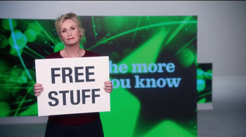 The More You Know TV Spot, 'Environment: Free Stuff' Featuring Jane Lynch - Thumbnail 1