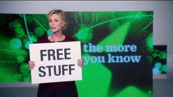 The More You Know TV Spot, 'Environment: Free Stuff' Featuring Jane Lynch - Thumbnail 3