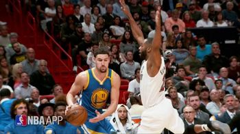 NBA App TV Spot, 'Just One Play: Hitting His Target' Ft. Klay Thompson - 122 commercial airings