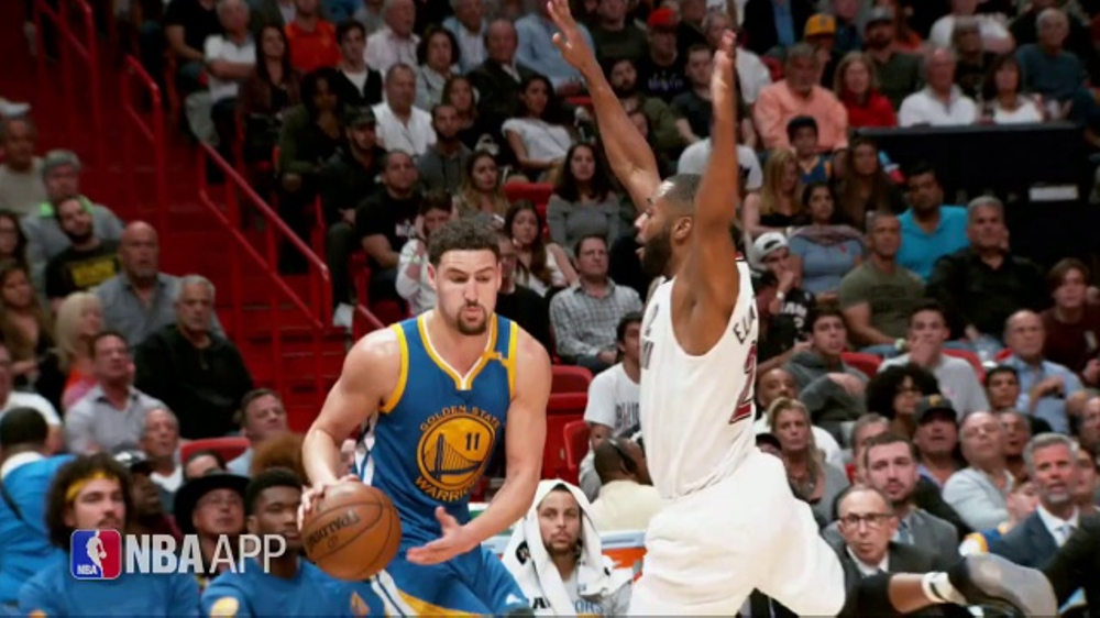 NBA App TV Commercial, 'Just One Play: Hitting His Target' Ft. Klay Thompson