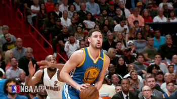 NBA App TV Spot, 'Just One Play: Hitting His Target' Ft. Klay Thompson - Thumbnail 3