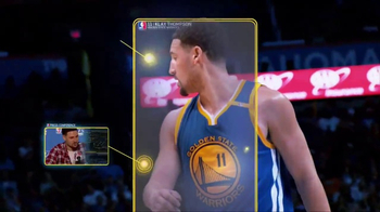 NBA App TV Spot, 'Just One Play: Hitting His Target' Ft. Klay Thompson - Thumbnail 8
