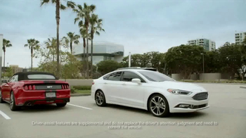 2017 Ford Fusion Titanium TV Spot, 'FX Movie Download: Tech Features' [T1] - Thumbnail 7