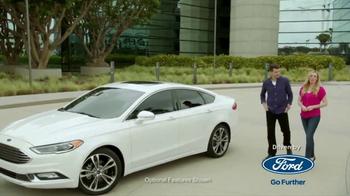 2017 Ford Fusion Titanium TV Spot, 'FX Movie Download: Tech Features' [T1] - Thumbnail 3