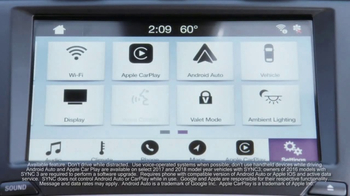 2017 Ford Fusion Titanium TV Spot, 'FX Movie Download: Tech Features' [T1] - Thumbnail 5