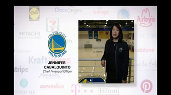 Oracle Cloud TV Spot, 'Oracle Cloud Customers: Golden State Warriors' - 56 commercial airings