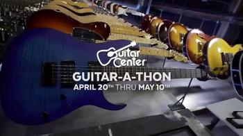 Guitar Center Guitar-a-Thon TV Spot, 'Fender and Squier Electric Guitars' - Thumbnail 1