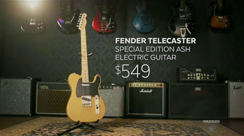 Guitar Center Guitar-a-Thon TV Spot, 'Fender and Squier Electric Guitars' - Thumbnail 5