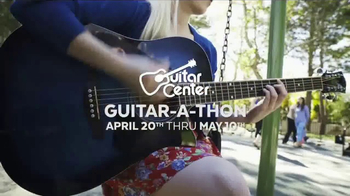 Guitar Center Guitar-a-Thon TV Spot, 'Acoustic Guitar & Strings' - Thumbnail 3