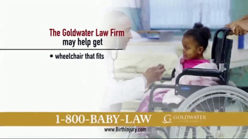 Goldwater Law Firm TV Spot, 'Children With Birth Injuries' - Thumbnail 4