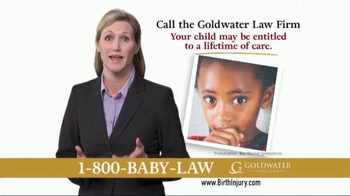 Goldwater Law Firm TV Spot, 'Children With Birth Injuries' - Thumbnail 6