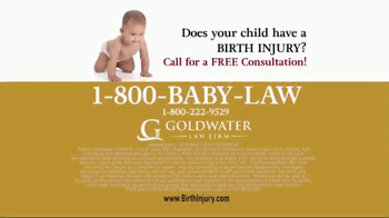 Goldwater Law Firm TV Spot, 'Children With Birth Injuries' - Thumbnail 7