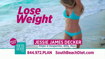 South Beach Diet TV Spot, 'Great Shape' Featuring Jessie James Decker - Thumbnail 2