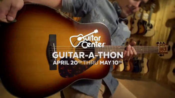 Guitar Center Guitar-a-Thon TV Spot, \'Gibson and Martin Guitars\'