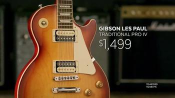 Guitar Center Guitar-a-Thon TV Spot, 'Gibson and Martin Guitars' - Thumbnail 6