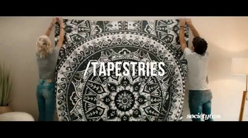 Society6 TV Spot, 'Shop for One-of-a-Kind Home Decor' Song by Galantis - Thumbnail 1