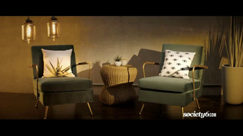 Society6 TV Spot, 'Shop for One-of-a-Kind Home Decor' Song by Galantis - Thumbnail 2