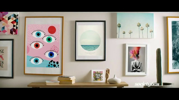 Society6 TV Spot, 'Shop for One-of-a-Kind Home Decor' Song by Galantis - Thumbnail 4