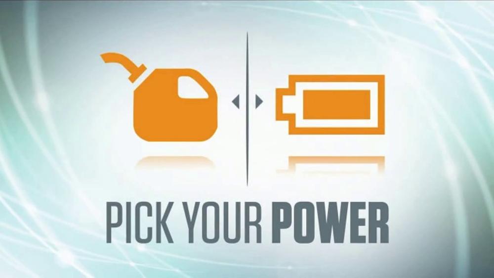 stihl dealer days tv commercial 39 pick your power 39. Black Bedroom Furniture Sets. Home Design Ideas