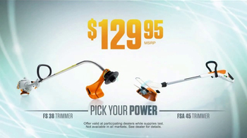 STIHL Dealer Days TV Spot, 'Pick Your Power' - Thumbnail 3