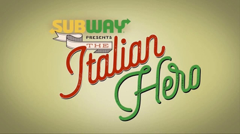 Subway Italian Hero TV Spot, 'The Taste of Italy' - Thumbnail 4