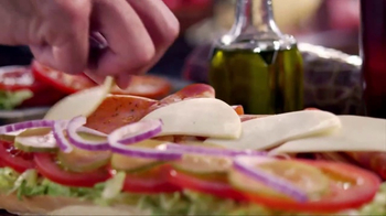 Subway Italian Hero TV Spot, 'The Taste of Italy' - Thumbnail 6