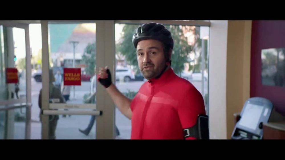 Wells Fargo App TV Commercial, 'Bicyclist' - Video