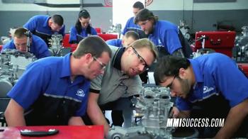 Motorcycle Mechanics Institute TV Spot, 'Train for Success Metric'