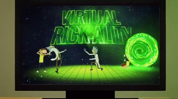 Rick and Morty: Virtual Rick-ality TV Spot, 'Living Room Teleportation' - Thumbnail 4