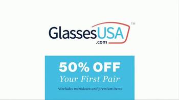 GlassesUSA.com TV Spot, 'You Need New Glasses: His' - Thumbnail 9