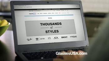 GlassesUSA.com TV Spot, 'You Need New Glasses: His' - Thumbnail 4