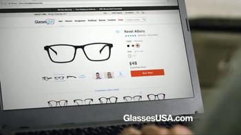 GlassesUSA.com TV Spot, 'You Need New Glasses: His' - Thumbnail 6