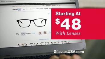 GlassesUSA.com TV Spot, 'You Need New Glasses: His' - Thumbnail 7