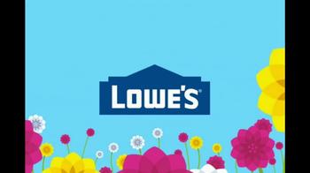 Lowe's Spring Savings TV Spot, 'All Things Spring' - Thumbnail 1