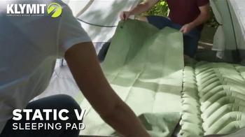 Klymit TV Spot, 'Outdoor Sleeping Comfort' - Thumbnail 1