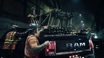 2017 Ram 1500 Big Horn Crew Cab TV Spot, 'Tunnel: Holds It Together' [T2] - Thumbnail 4