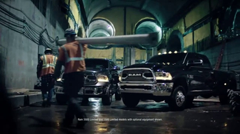 2017 Ram 1500 Big Horn Crew Cab TV Spot, 'Tunnel: Holds It Together' [T2] - Thumbnail 5