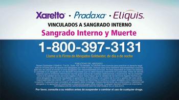 Goldwater Law Firm TV Spot, 'Xarelto, Pradaxa, Eliquis' [Spanish] - Thumbnail 5