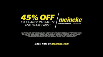 Meineke Car Care Centers TV Spot, 'Oil Changes and Brake Pads' - Thumbnail 4