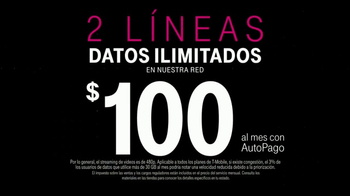 T-Mobile One TV Spot, 'Todo incluido: Galaxy S8' [Spanish] - Thumbnail 3
