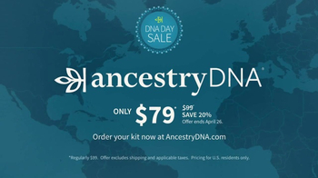 Ancestry DNA Day Sale TV Spot, 'Learn About You' - Thumbnail 10