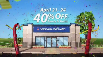 Sherwin-Williams 4-Day Super Sale TV Spot, 'April 2017' - Thumbnail 2