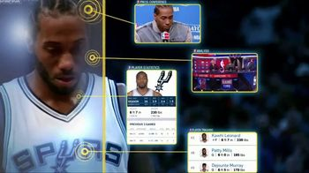 NBA App TV Spot, 'Just One Play: Defensive Mastery' - 57 commercial airings