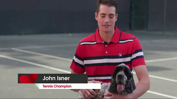 Nulo TV Spot, 'Aces for Animals' Featuring John Isner
